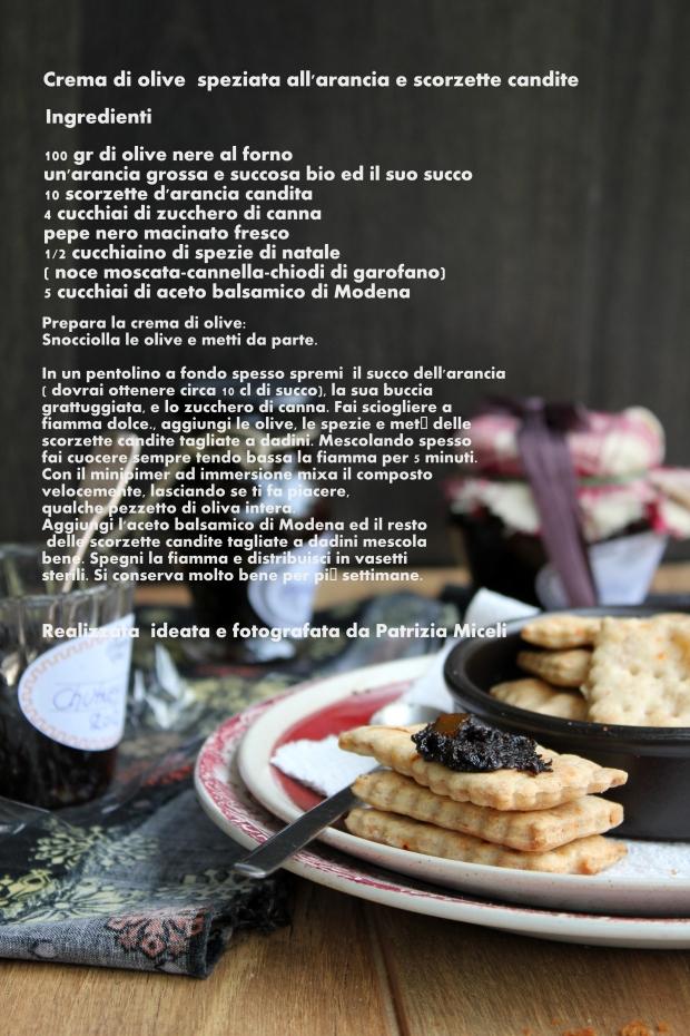 crema di olive speziata