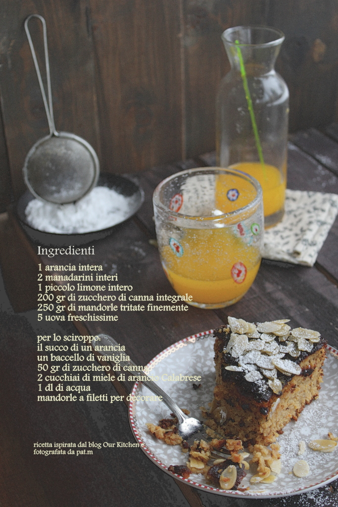 Torta agrumi