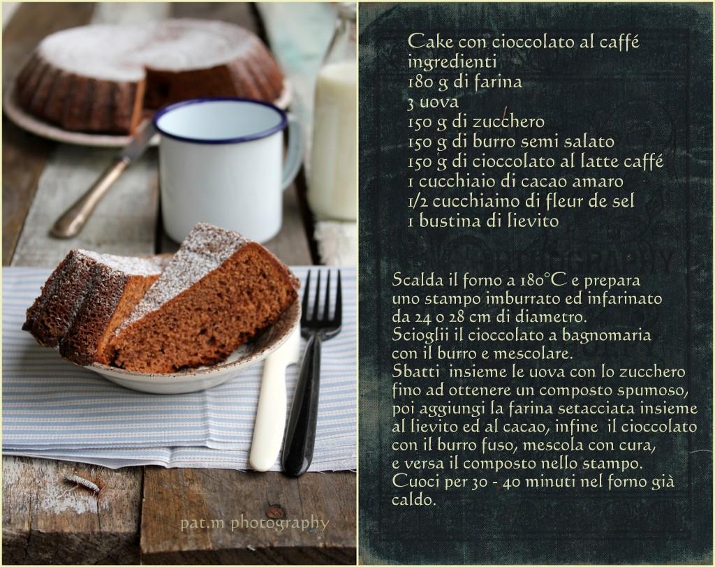 Cake cioccolato caffé