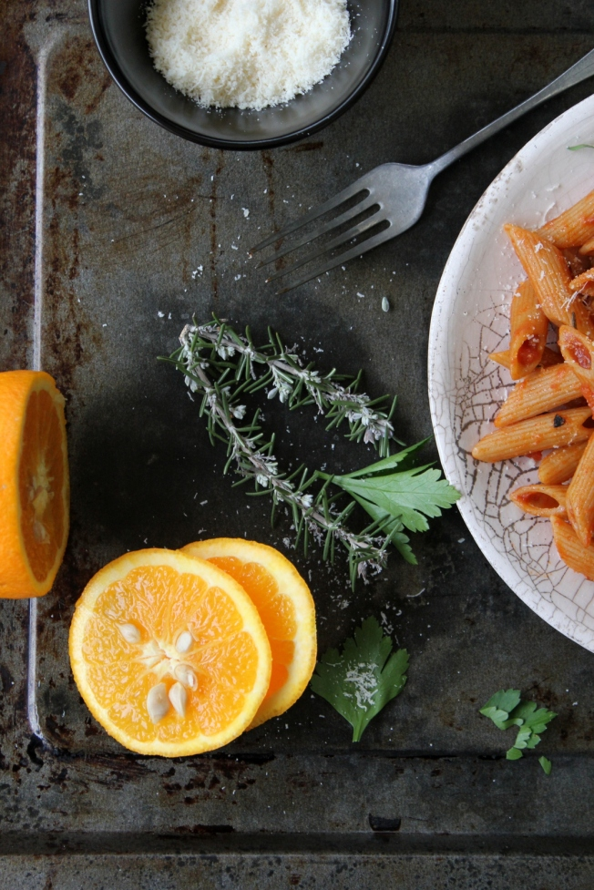 arance pasta