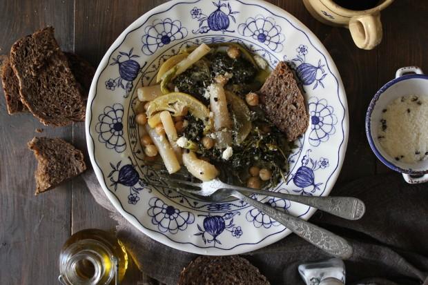minestra di finocchietto selvatico 2