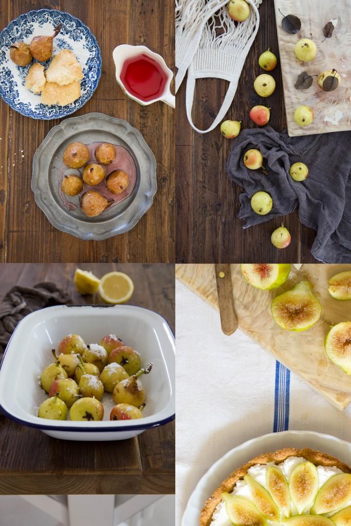 1-tarte frolla amaretti con crema panna e philadelphia e fichi