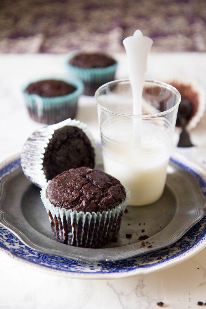 1-Muffins quinoa cacao miele