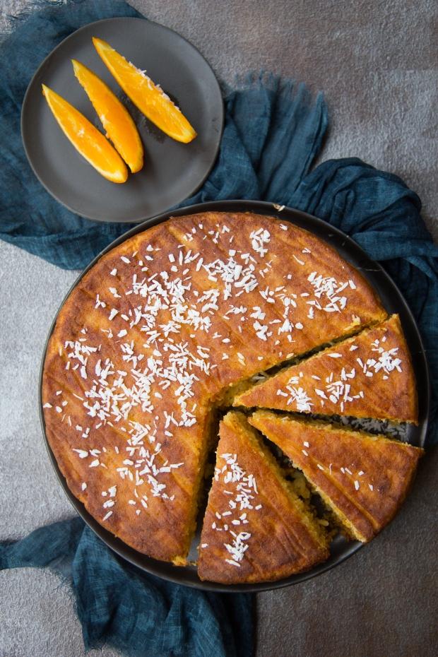 Torta arance carote e cocco